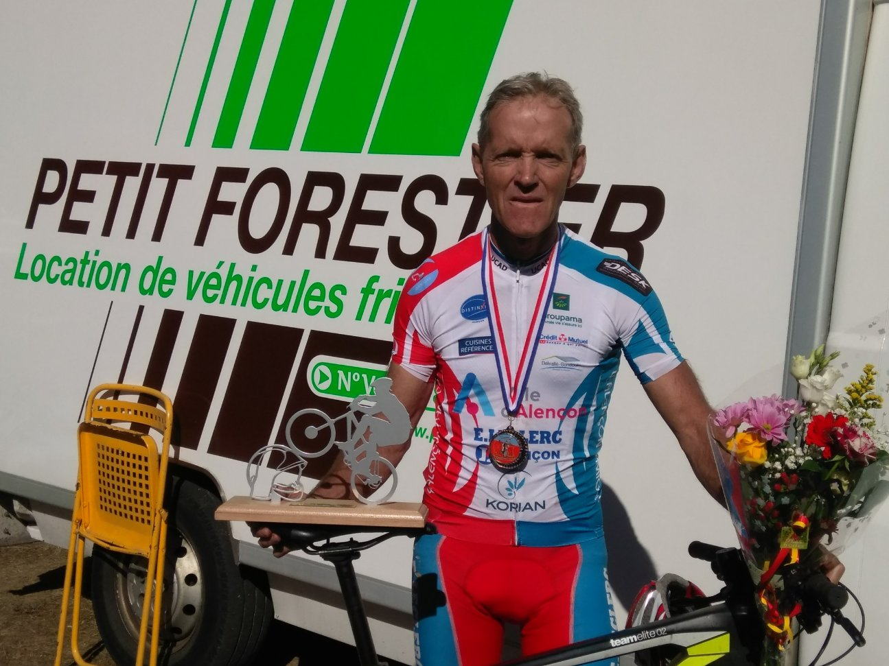 championnat de france vtt master henri disztl